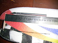 Name: IMG_1172.jpg Views: 192 Size: 241.4 KB Description: Now cut with a sharp blade the slot that will let you install the CF rod