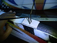 Name: IMG_1184.jpg Views: 194 Size: 168.8 KB Description: Now installed the landing gear. please note that at this point, i had not glued the fiberglass mount yet