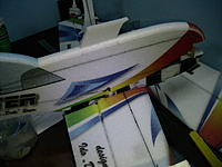 Name: IMG_1237.jpg Views: 211 Size: 157.4 KB Description: Trial fit it making sure it is straight and glue.