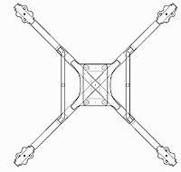 Name: Frame x280 .jpg Views: 10 Size: 102.7 KB Description: 280mm frame design, replaceable arms, top mount battery.