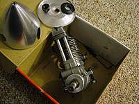 Name: DSCF9397.jpg Views: 132 Size: 102.5 KB Description: Buy this motor; get a free spinner. Get everything you see here + the muffler.