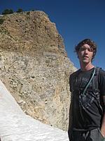 Name: IMG_3121 (768x1024).jpg Views: 54 Size: 109.7 KB Description: Tyler and a false peak