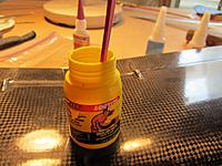 Name: IMG_2898 (1024x768).jpg Views: 175 Size: 85.6 KB Description: Can't find this glue around anymore, but it's the bomb for these types of repair.  Better than the brown Gorilla glue imo.