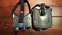 Name: 20170106_214724.jpg Views: 298 Size: 871.8 KB Description: Size comparison. Fatshark Transformer's (left) vs Hobbyking Quanum Cyclops goggles (right.)