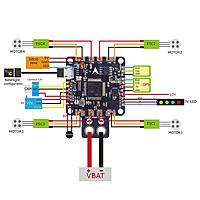 wiring aio fc to 4 in 1 esc rc groups. Black Bedroom Furniture Sets. Home Design Ideas