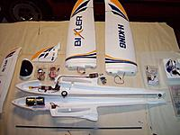Name: Bixler-Mods.jpg Views: 351 Size: 197.3 KB Description: Early part of BIXLER build with wheels and wing magnets