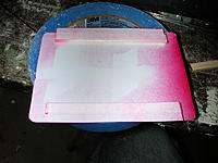 """Name: DSCN6357.JPG Views: 34 Size: 636.4 KB Description: Hatch cover made from .010"""" styrene sheet and some scrap 1/8"""" x 1/4"""" balsa with .010"""" styrene sheet tongues glue on top.  The tongues for a clip that engages the fuselage stringers on either side of the hatch opening.  Per the plans."""