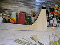 Name: DSCN4367.jpg Views: 270 Size: 278.6 KB Description: Left side of fin sheeted and rough sanded.