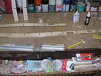 Name: DSCN4407.jpg Views: 185 Size: 300.8 KB Description: Front plywood doubler glued to front side of main spar.