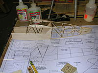 Name: DSCN5097.JPG Views: 90 Size: 680.2 KB Description: Fuselage mostly completed except for landing gear and mounting plate and nose former/nose block and motor mount and front top sheeting.