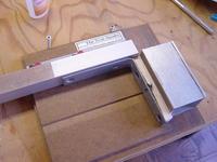 Name: DSC01514.jpg Views: 255 Size: 85.2 KB Description: True Sander squares the bracket, the essential step.