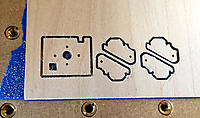 Name: First Cut.jpg Views: 18 Size: 329.3 KB Description: CNC routed pieces.  Ready to remove from the plywood sheet.