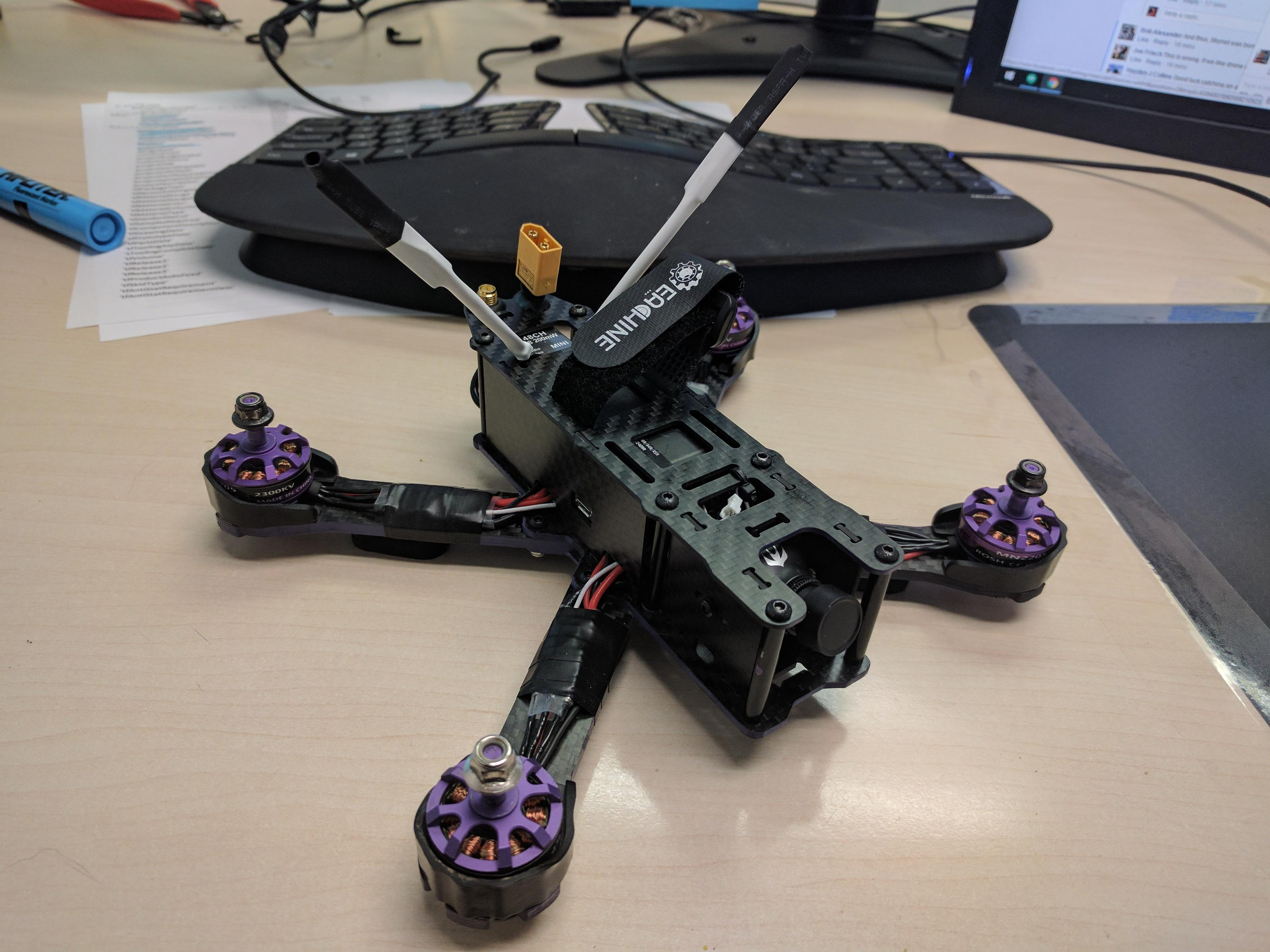 Mini-Review Eachine Wizard X220 ARF F3 - Updated Version