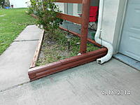 Name: SANY1091.jpg Views: 120 Size: 737.8 KB Description: She wasn't going to paint under the downspout...I encouraged her to change her mind!  hee hee