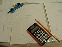 Name: SANY1474.jpg Views: 136 Size: 709.2 KB Description: Sponson layout. The tools show the design process being done. hee hee