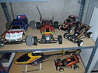 Name: PB211566.jpg Views: 90 Size: 231.4 KB Description: Associated TC4, B4, Tamia Tamtech Hornet, Tyco Turbo Hopper