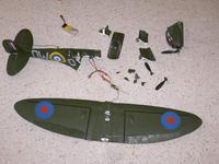 Name: Spitfire Remains.jpg Views: 109 Size: 124.7 KB Description: GWS Spitfire before