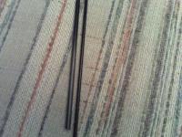 "Name: CF tubes.jpg Views: 148 Size: 93.4 KB Description: The stock tube on the right, 1/4"" CF on left."