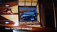 Name: 42 SEA MAID 1.jpg Views: 217 Size: 37.9 KB Description: 3/16 wide piano hings are scale 1/8