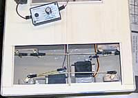 Name: RUDDER_LINK_2.jpg Views: 164 Size: 64.6 KB Description: Rudder links, hard over starboard