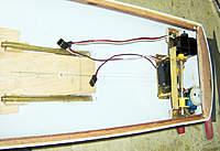 Name: RUDDER_CRANE_SERVOSa.jpg Views: 381 Size: 62.8 KB Description: Rudder, and crane servos.