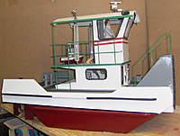 Name: STARBOARDa.jpg Views: 237 Size: 87.0 KB Description: Mini springer sits on the pilot house deck/