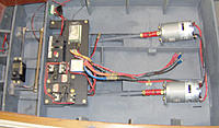 Name: CORVETT_CONTROL.jpg Views: 600 Size: 216.2 KB Description: 1 done with twin 800's run on 6 volts 2 6 volt 4 amp gells in parralle run time approx. 1.5 hours with good speed.