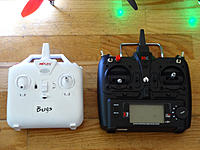 Name: Bugs3  & XK X251 Transmitter compare.jpg