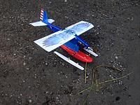 Name: IMG_3910.jpg Views: 35 Size: 2.46 MB Description: Wing is printed bond paper over foam with Doculam ironed on.