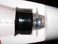 Name: DSCF4825.jpg Views: 1303 Size: 149.5 KB Description: Thrust tube taped on.