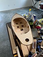 Name: image2.jpg Views: 4 Size: 1.03 MB Description: Mike finished wrapping the rubbing strake around the whole deck.