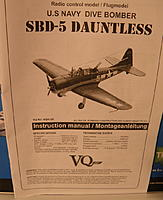 VQ Models SBD Dauntless ARF R/C kit w/retracts - RC Groups