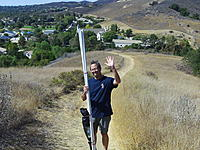 Name: 114_0153.jpg Views: 70 Size: 315.7 KB Description: Han was nice enough to haul the poles up the hill for us.