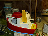 Name: more salty 5-5 007.jpg Views: 105 Size: 189.6 KB Description: I am also making a ships wheel to put in the wheel house.