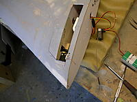 Name: 57 Access panel replaced after arranging steering. DSCN1798.JPG