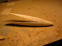 Name: 90 Sanded and tailbullet added, ready to glass DSCN1940.JPG