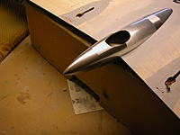 Name: 95 Tail bullet painted with chrome rattle can. DSCN1948.JPG