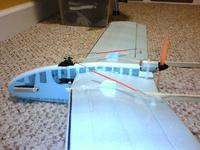 Name: fletch1.jpg Views: 189 Size: 97.6 KB Description: Pusher aileron trainer, scratch built
