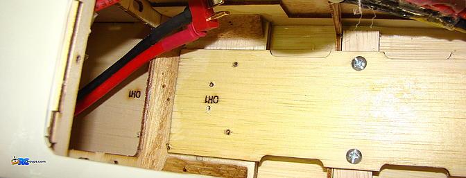 <b>Gear mounting screw tips sticking through.</b>