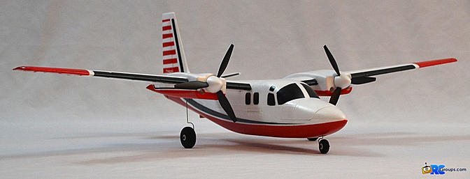 Horizon Hobby E-flite UMX Aero Commander BNF Basic with AS3X - RCGroups Review