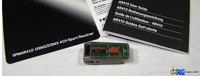 <b>Spektrum AR410 Four-Channel Receiver</b>