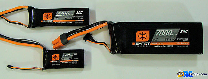 <b>Spektrum Smart LiPo Batteries</b>