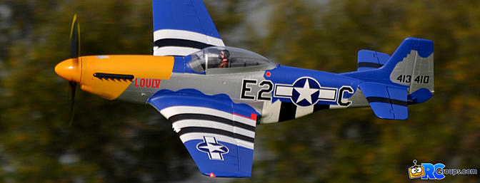 Horizon Hobby E-flite P-51D 1.5m BNF Basic with Smart Technology - RCGroups Review