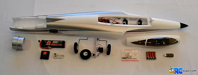 <b>Fuselage, Smart Battery, and hardware</b>