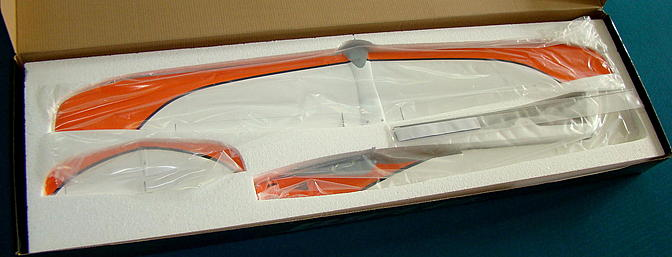 <b>Luckily the molded foam packing protected all the parts!</b>