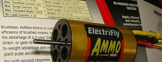 <b>ElectriFly Ammo Motor</b>