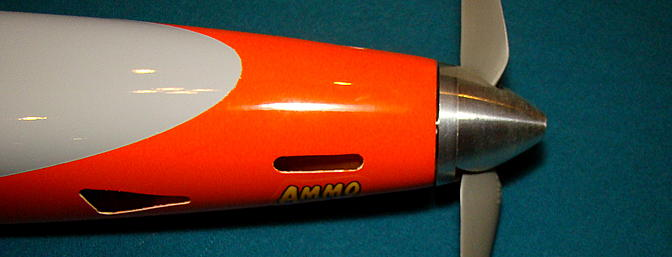 Spinner gap with Ammo motor stock shaft length