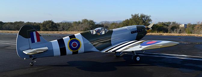 Phoenix Model Spitfire Mk2 GP/EP ARF Review - RC Groups