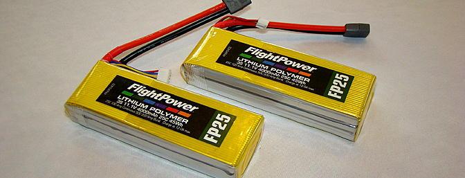 <b>FlightPower 4000 mAh 25C LiPo Battery</b>