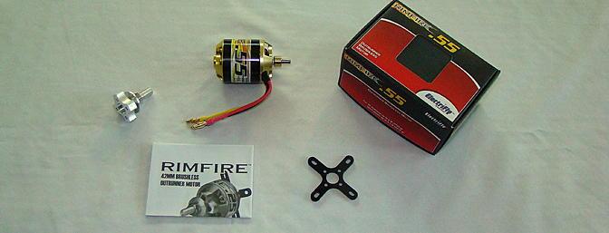 <b>Rimfire .55 Brushless Motor</b>